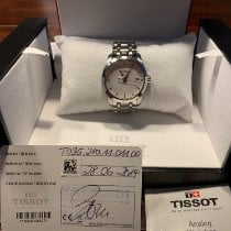 Tissot Couturier pre-owned 32mm White