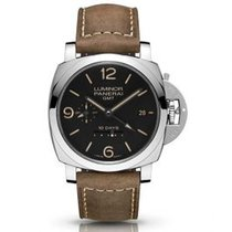 Panerai Luminor 1950 10 Days GMT new Automatic Watch with original box and original papers PAM00533