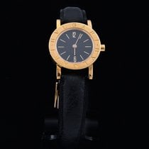 Bulgari Bulgari Yellow gold 23mm Black No numerals
