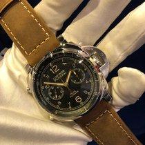 沛納海 Luminor 1950 3 Days Chrono Flyback 鋼 44mm 黑色 香港, See my Profile for more details