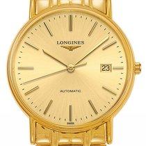 Longines Men's L49212328 Presence Gold tone Watch