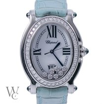 Chopard Happy Sport Oval Aftermarket Diamond Setting (Box&Papers)