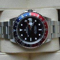 Rolex [near NOS+Stick Dial +Service] GMT Master II, PEPSI -D-...