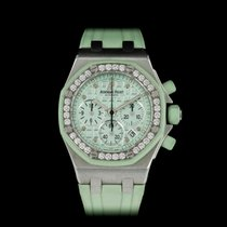 Audemars Piguet Royal Oak Offshore Lady Сталь 37mm Зеленый