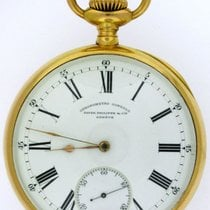Patek Philippe 1903 Chronometro Gondolo 18K Yellow Gold Pocket...