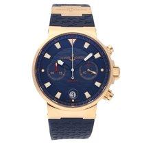 Ulysse Nardin Blue Seal Chronograph Rose Gold LE