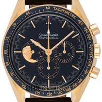 Omega Speedmaster Professional Moonwatch neu 42,00mm Gelbgold