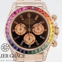 Rolex Daytona Rainbow Diamonds Aftermarket Diamanten