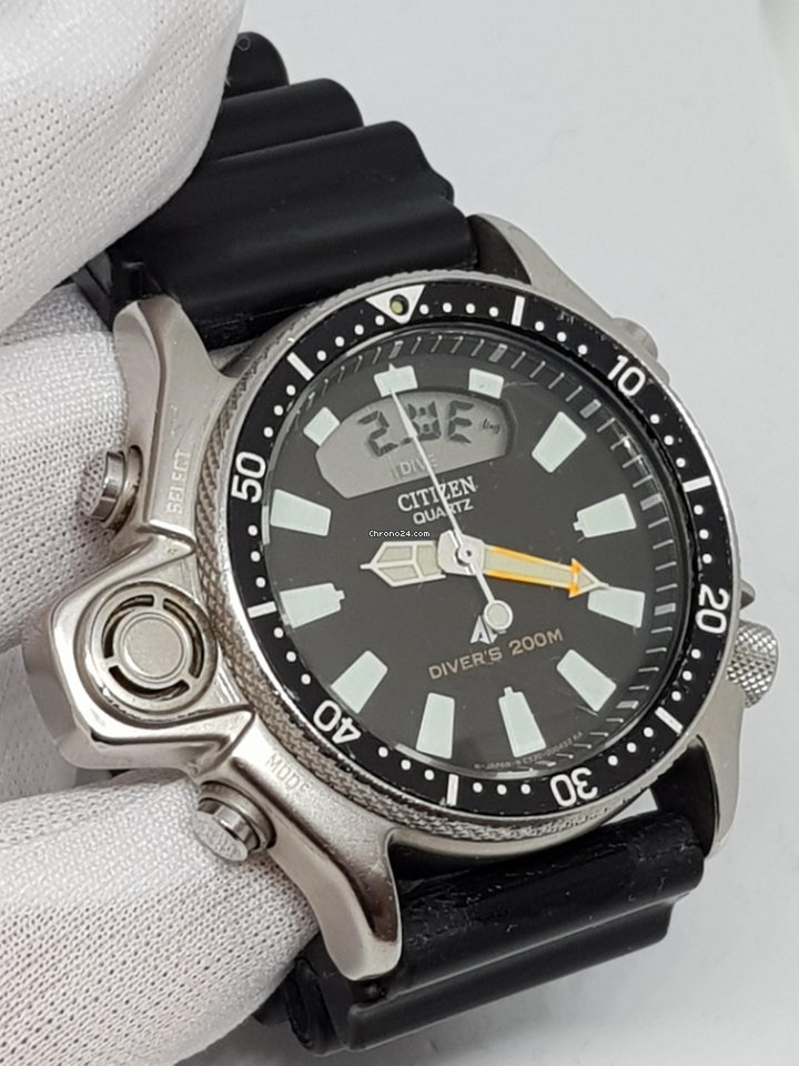 8492a7d477e Citizen Aqualand I Promaster Diver s 200mt 44mm Sensor Black for  323 for  sale from a Trusted Seller on Chrono24