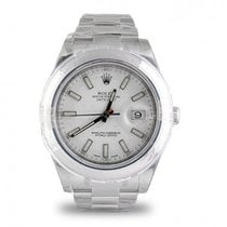 Rolex Datejust II Steel 41mm White No numerals UAE, Dubai