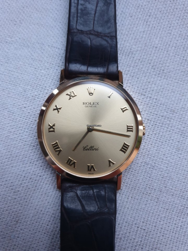 Часы из золота Rolex, оригинал.
