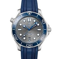 Omega Seamaster Diver 300 M Steel 42mm Grey No numerals United States of America, Iowa, Des Moines