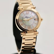 Chopard Imperiale Rose gold 28mm Mother of pearl Roman numerals