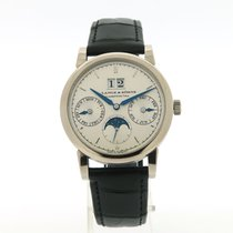 A. Lange & Söhne 330.026 White gold 2015 Saxonia 38.5mm pre-owned