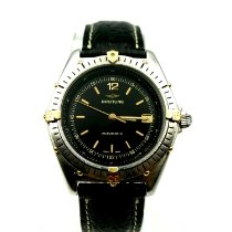 Breitling Antares Steel 39mm Black No numerals