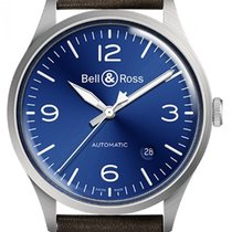 Bell & Ross BR V1 Сталь 38.5mm Синий