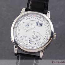 A. Lange & Söhne White gold 42mm Manual winding 116.039 pre-owned