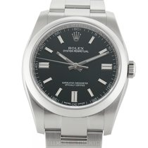 Rolex Oyster Perpetual 36 Steel 36mm Black United States of America, New York, New York