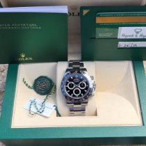 Rolex Daytona Steel 40mm Black No numerals United States of America, Illinois, Springfield