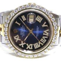 Rolex Datejust II Acero 36mm Azul