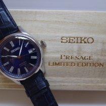 Seiko Presage Сталь 40.6mm Синий Римские