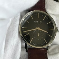 NOMOS Zürich pre-owned 40mm Black Leather