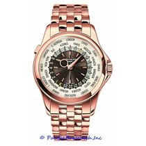 Patek Philippe World Time Rose gold 39mm Silver United States of America, California, Newport Beach