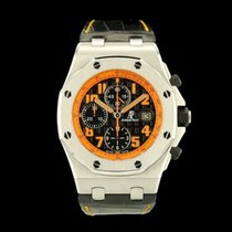 Audemars Piguet 26170ST.OO.D101CR.01 Steel 2008 Royal Oak Offshore Chronograph Volcano 42mm pre-owned