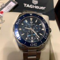 TAG Heuer Aquaracer 300M Steel 43mm Blue No numerals United States of America, California, lemoore