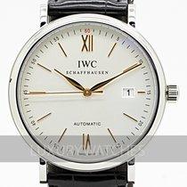 IWC Portofino Automatic Сталь 40mm Белый