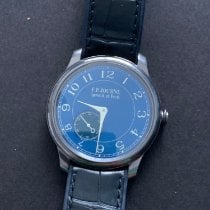 F.P.Journe Souveraine Tantalum 39mm Blue United States of America, New Jersey, Princeton