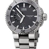 Oris Aquis Titan Titanium 46mm Grey No numerals