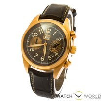 Bell & Ross Red gold Automatic Brown 43mm pre-owned Vintage