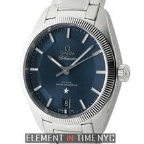 Omega Globemaster Steel 39mm Blue