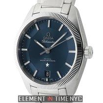 Omega Globemaster Steel 39mm Blue United States of America, New York, New York