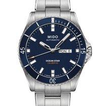 Mido Ocean Star Stahl 42,5mm Blau Deutschland, Mannheim