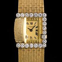 百达翡丽  (Patek Philippe) 18k Yellow Gold Rare Concealed Diamond...