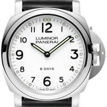 Panerai Luminor Base 8 Days neu 44mm Stahl