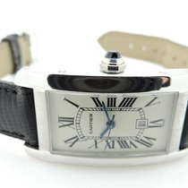 Cartier TANK AMERICAINE AUTOMATIC WATCH W2603256 with orig box...