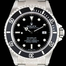 Rolex Stainless Steel Black Dial Sea-Dweller NOS Gents B&P...