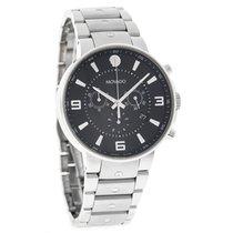 Movado S.E. Pilot Series Mens Swiss Chronograph Quartz Watch...