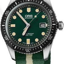 Oris Divers Sixty Five Steel Green United States of America, New York, Brooklyn
