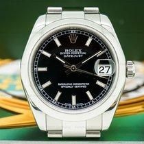Rolex 178240 Datejust Lady 31 Black Stick Dial (26823)