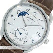 Hermès Arceau Petite Lune GM Stahl W041047WW00