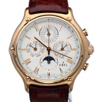 Ebel Perpetual Calendar Moonphase Rose Gold 40 mm