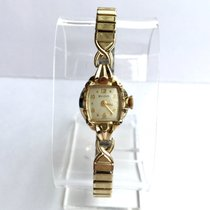 Bulova Mechanical Gold-Plated & Stainless Steel Ladies Watch