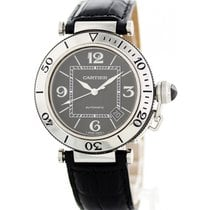 Cartier 40mm Automatic pre-owned Pasha Seatimer Black