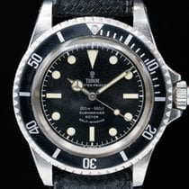 "Tudor 7928 Vintage Submariner ""Rose Logo"" Gilt Chapter Ring..."