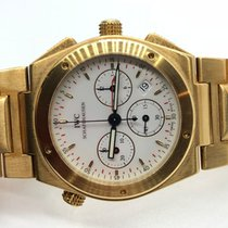 IWC Ingenieur Chronograph pre-owned 34mm Yellow gold