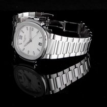 Patek Philippe Ladies' Automatic Nautilus Silvery-White Steel...